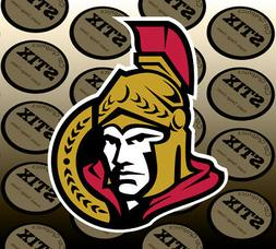 Ottawa Senators Logo NHL Color Die Cut Vinyl Sticker Car Win