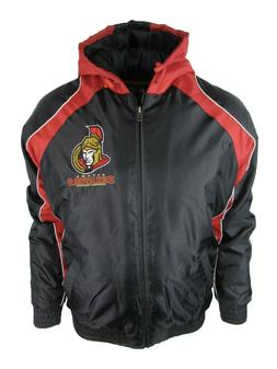 Ottawa Senators Men L XL 2XL Full Zip Hooded Vintage Winter