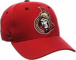 Ottawa Senators Zephyr Men's Fitted Cap Hat Red Size 7 1/4 N