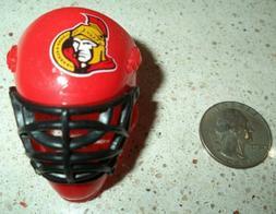 ottawa senators nhl 2 mini hockey goalie