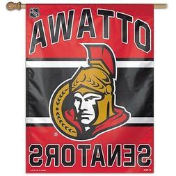 Ottawa Senators Wincraft NHL 27x37 Banner/Vertical Flag FREE