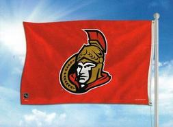 Ottawa Senators NHL 3X5 Indoor Outdoor Banner Flag with grom