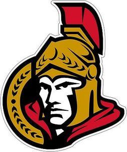 Ottawa Senators NHL Color Die Cut Vinyl Decal Sticker - New