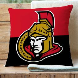Ottawa Senators NHL Custom Pillows Car Sofa Bed Home Decor C