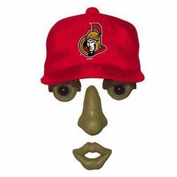 Ottawa Senators NHL FOREST FACE Yard/Tree GARDEN Decoration