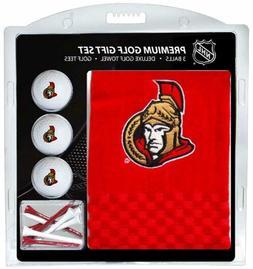Ottawa Senators NHL Golf Gift Set Embroidered Golf Towel,