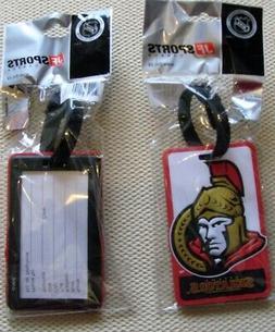 Ottawa Senators NHL Hockey 3d Rubberized Luggage Bag Tag