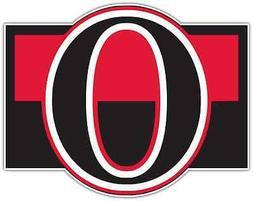 Ottawa Senators NHL Hockey Bumper Locker Notebook Sticker De