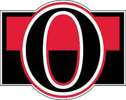 Ottawa Senators NHL Hockey Bumper sticker, wall decor, vinyl