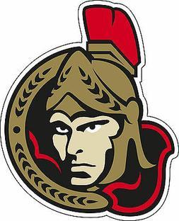 Ottawa Senators NHL Hockey bumper sticker, wall decor, vinyl