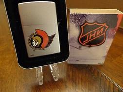 OTTAWA SENATORS NHL HOCKEY ZIPPO LIGHTER RETIRED DESIGN MINT