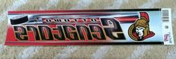 Ottawa Senators NHL hockey WinCraft vinyl Decal Bumper Stick