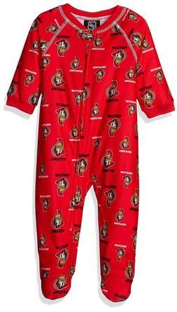 Ottawa Senators NHL Infant Team Logo Coverall Sleepwear, 18