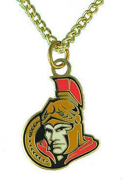 Ottawa Senators NHL Logo Necklace