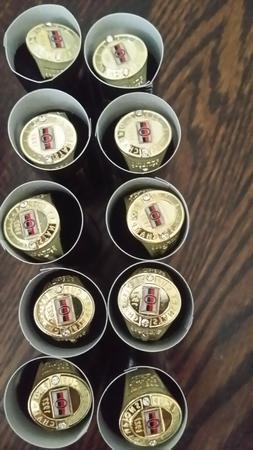 Ottawa Senators  NHL Molson stanley cup ring lot of 10