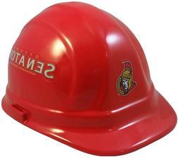 Ottawa Senators NHL Team Hard Hat with Ratchet Susspension
