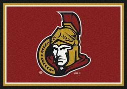 Ottawa Senators NHL Team Spirit Area Rug Milliken