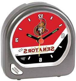 Ottawa Senators Portable Alarm Clock with Team Logo