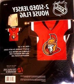 Ottawa Senators Premium 2-Sided Jersey Style Banner Outdoor