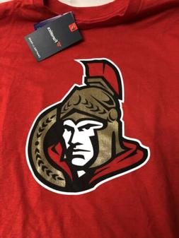 Fanatics Ottawa Senators Short Sleeve  Tshirt Red 🏒 Pagea