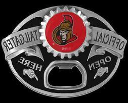 ottawa senators tailgater bottle opener belt buckle
