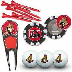Ottawa Senators WinCraft Team Golf Gift Set