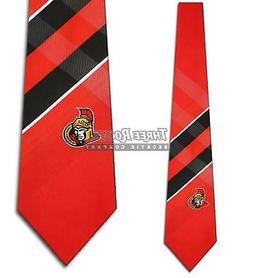 Ottawa Senators Ties Mens Senators Necktie Licensed Neck Tie