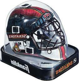 Ottawa Senators Unsigned Franklin Sports Replica Mini Goalie