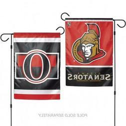 Ottawa Senators WC Garden Flag Premium 2-Sided Outdoor House