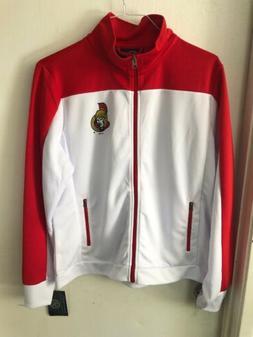 Ottawa Senators Women's XL Full Zip Jacket New Nhl GIII Ho