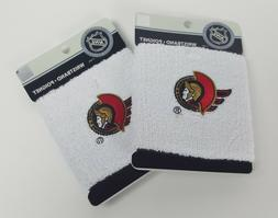Pair of Two NHL Ottawa Senators Wristbands National Hockey L