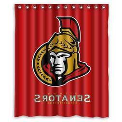 """Personalized Ottawa Senators Hockey Waterproof  60"""" x 72"""" Sh"""
